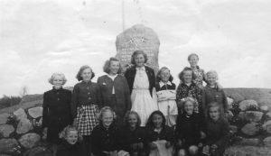Mindesten indviet maj 1946